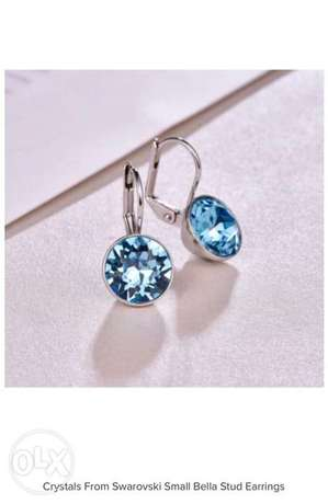 Crystals From Swarovski Small Bella Stud Earrings
