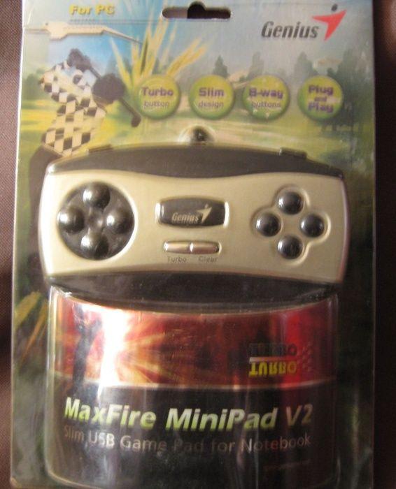 GENIUS MAXFIRE MINIPAD V2 DRIVERS FOR WINDOWS 7