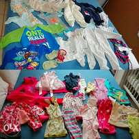 Baby girl and baby boy clothes for sale