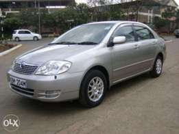 toyota corolla nze on quick sale