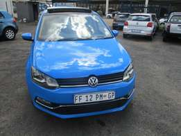 VW Polo 6 tsi 1.2 2016 Model,5 Doors factory A/C And C/D Player