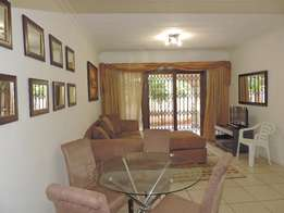 Fully Furnished Ground Floor Unit in Sandton Central