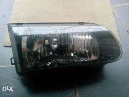 Toyota tazz head lights and grill 2004 model