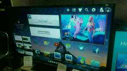 Black Nasco_-55inches LED SMART WiFi Digital Tv.