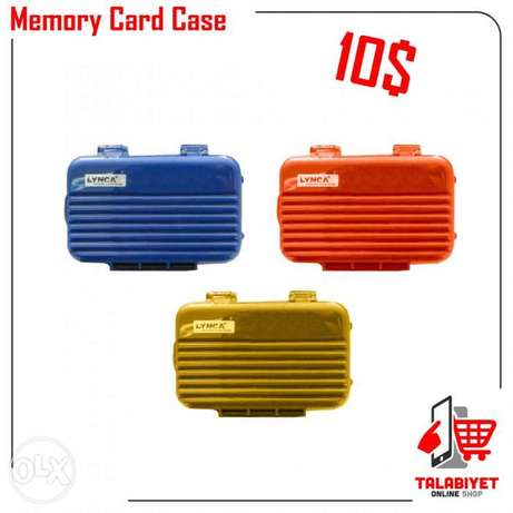 Memory card case