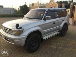 Toyota prando TX 1,KZ engine 3.0 cc very neat clean trade in accepted
