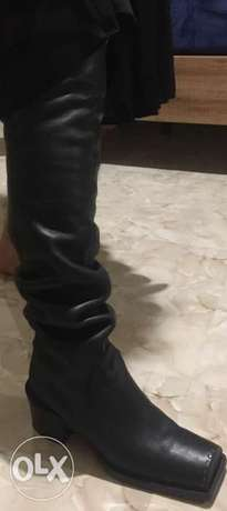 Lather Boot Made in Italy