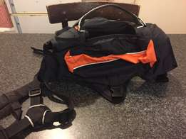 X-large dog's harness with pockets