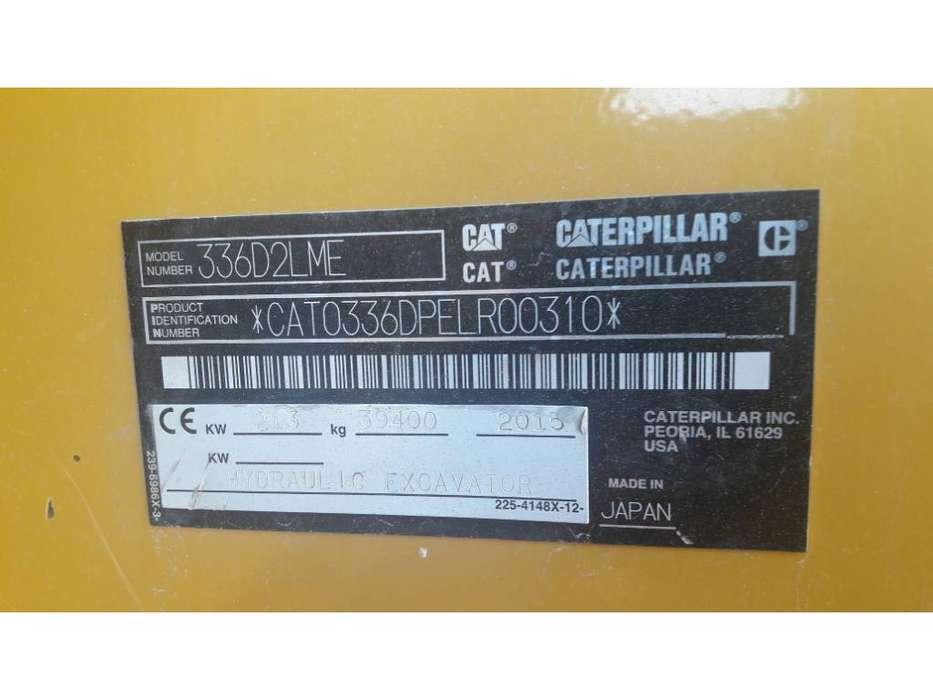 Caterpillar 336 D2L ME - 2015 - image 5