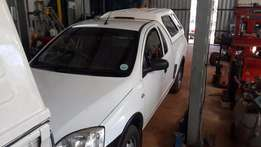 Opel corsa with canopy