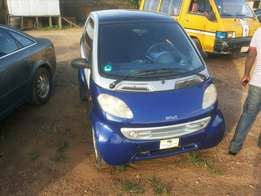 Foreign used smart 2007 blue