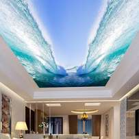 Pop ceiling designs and 3D