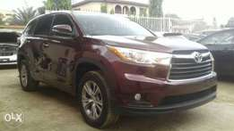 Toyota Highlander 2015 Model Lagos Clear Perfectly Condition