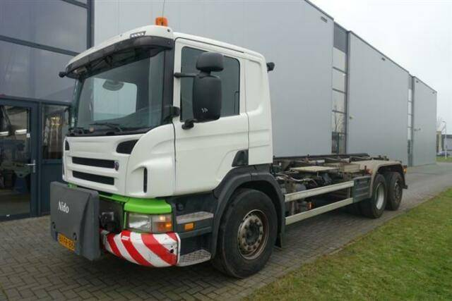 Scania P320 6X2 STEERING AXLE ORIGINAL KM!!! NIDO EURO - 2009