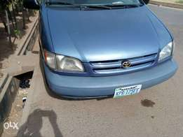 A clean 2002 Toyota Sienna for quick sale