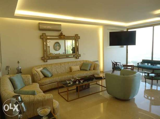 A-2764: apartment in Ain Saade for sale with a VIEW 180m2