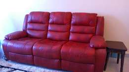Special Offer!.. Recliner sofa seater leather,Quick, Quick sale.