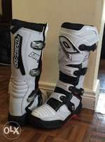 O'NEAL motorcross boots. Size 7