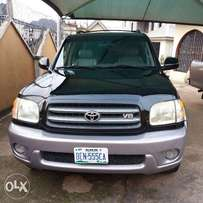 Clean Toyota Sequoia in a very good condition, nothing to repair