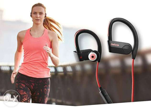 Jabra Sport Pace, earphones, earbuds, Wireless, Bluetooth, سماعات