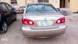 Clean Registered Toyota Corolla 2006