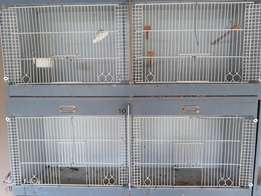 Bird breeding cages for small birds
