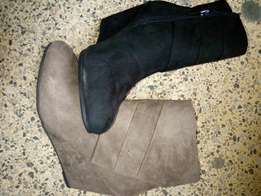 Ladies boot wedge