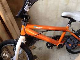 Kids bike for sale with training wheels