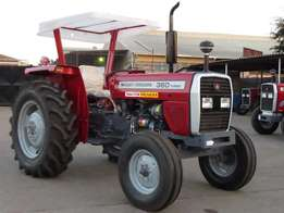 Brand new Massey Fugerson 360/260 Tractors - buy on hire-purchase!
