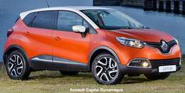 Brand New Renault Captur From Only R249 900.00