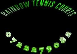 Rainbow tennis courts