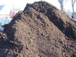 Compost and top soil