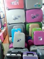 Strong plastic suitcases