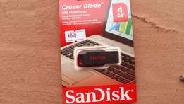 Original Brand New SanDisk USB Flash Drive 4GB, #600 at Wholesales
