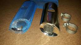 Stainless exhaust tips