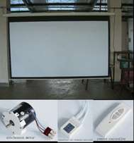 "84"" Electric Projector Screen"