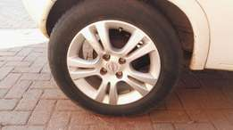 "Corsa D 15"" rims and tyres to swop for why"