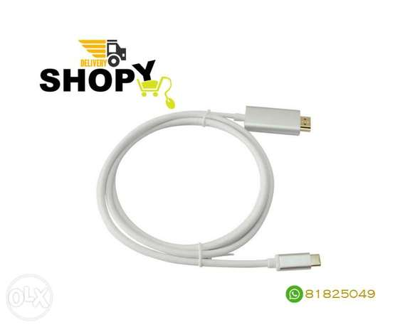 Type-C 3.1 To HDMI Video Cable 1.8m