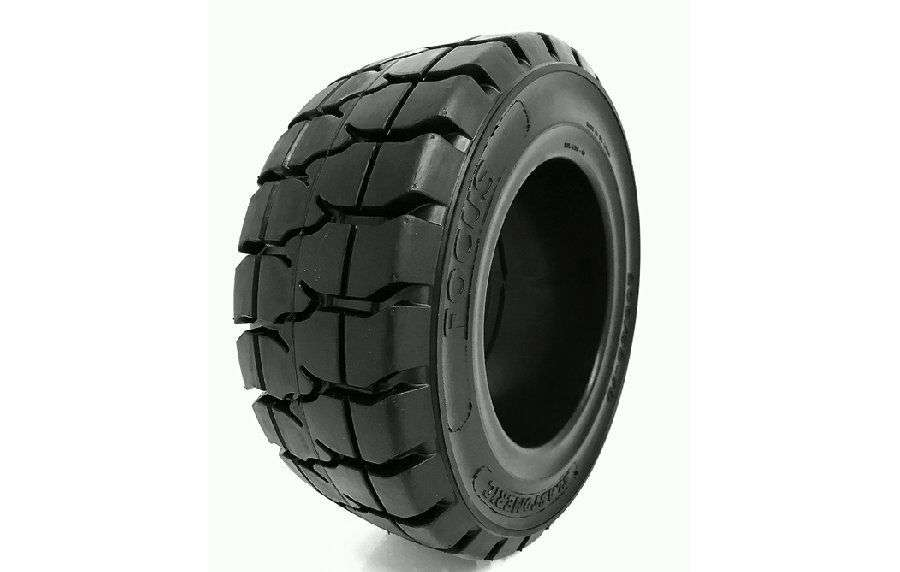 Elastomeric Focus Lock Negro Forklift Tyre - 2018