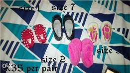 Girls shoes size 1 t0 7