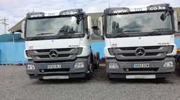 Actros 2644 Double Diff