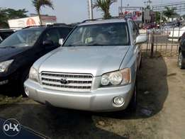 Direct Belgium Toyota Highlander 2002 for sale