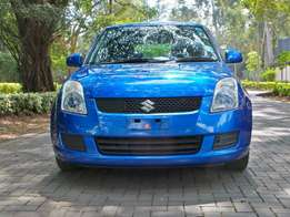 blue suzuki swift