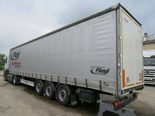 Fliegl SDS 350 , Lift Achse - 2014