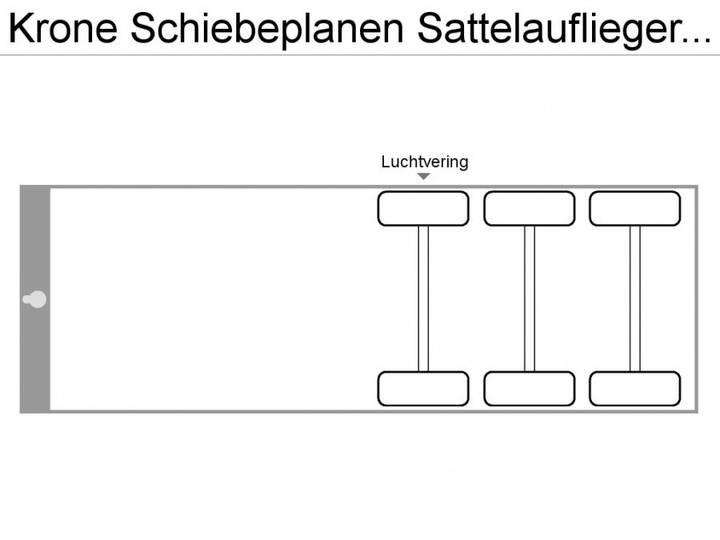 Krone Schiebeplanen Sattelauflieger Profi Liner - 2013 - image 2