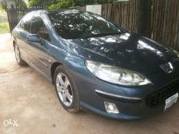 Almost new Peugeot 407 blue 2007