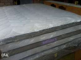 Sleepmaster and Restonic queen size beds R3200