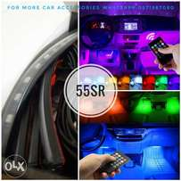 Car interior led strip