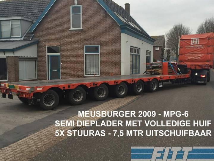 Meusburger MPG-6 / 6ass semi, 5x stuuras, 7,50 mtr uitschuifbaar, hu... - 2009
