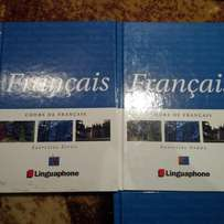 Linguaphone - self learn French CD's and books - full course